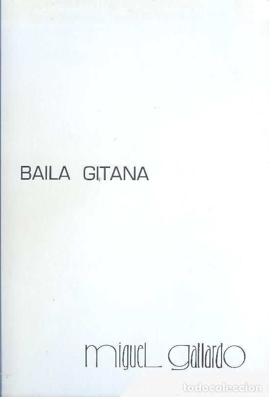 MIGUEL GALLARDO MAXI - BAILA GITANA - MAXI-SINGLE SPAIN 1989 (Música - Discos de Vinilo - Maxi Singles - Solistas Españoles de los 70 a la actualidad)