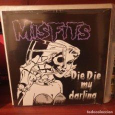 Discos de vinilo: MISFITS / DIE DIE MY DARLING / PLAN 9 2005. Lote 233534220