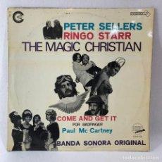 Discos de vinilo: LP - VINILO PETER SELLERS & RINGO STARR - THE MAGIC CHRISTIAN - ESPAÑA - AÑO 1970. Lote 233557950