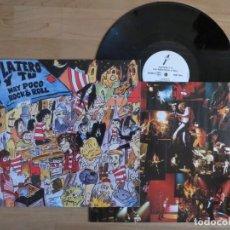 Discos de vinilo: PLATERO Y TU: HAY POCO ROCK & ROLL (DRO 1994) PRIMERA EDICION!!!JOYA DE COLECCIONISTA!!-EXTREMODURO. Lote 233559060