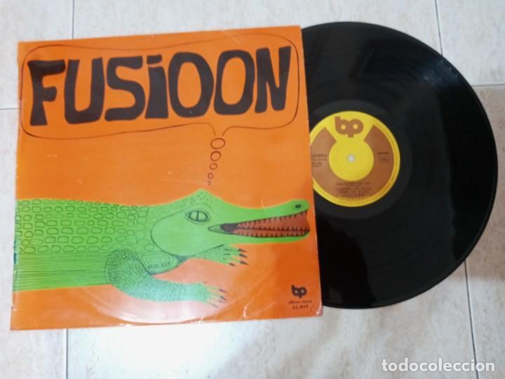 FUSIOON. LP 1974 ORIGINAL. (Música - Discos - LP Vinilo - Grupos Españoles de los 70 y 80)