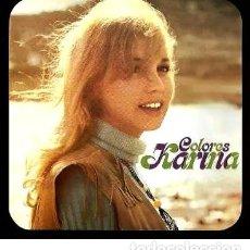 Discos de vinilo: KARINA / COLORES - LP DE VINILO - HISPAVOX. Lote 233611505
