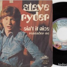 Discos de vinilo: STEVE RYDER TED MULRY - REMEMBER ME- UK PSYCH SITAR MOD DANCER SINGLE EDICION ESPAÑOLA. Lote 233642255