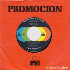 Discos de vinilo: BOB MARLEY AND THE WAILERS - COULD YOU BE LOVED - SINGLE VINILO EDICION ESPAÑOLA PROMOCIONAL REGGAE. Lote 233644750