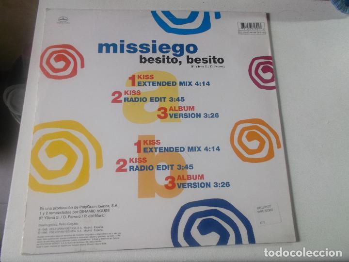 Discos de vinilo: MISSIEGO, BESITO, BESITO,1998 - Foto 2 - 233647800