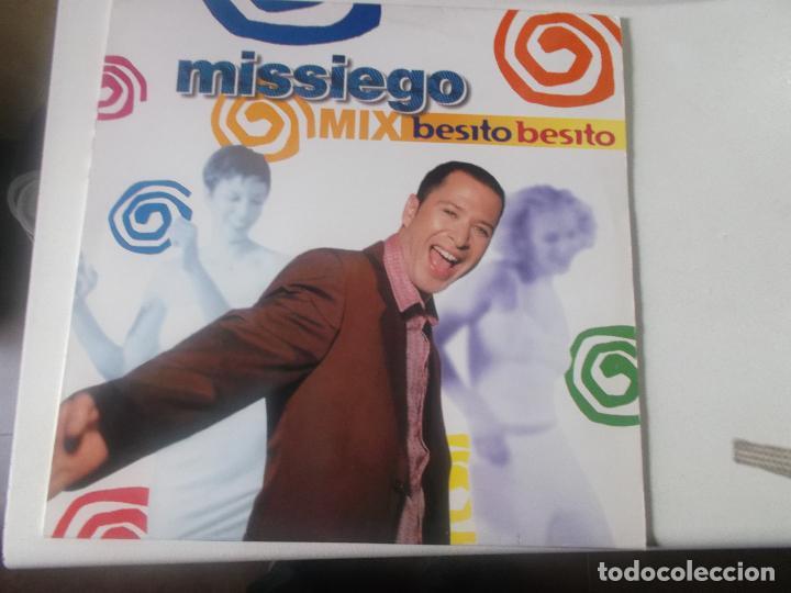 MISSIEGO, BESITO, BESITO,1998 (Música - Discos de Vinilo - Maxi Singles - Grupos y Solistas de latinoamérica)