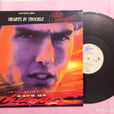 """Discos de vinilo: 12"""" CHICAGO - HEARTS IN TROUBLE - OST DAYS OF THUNDER - EPIC 656135 6 - SPAIN PRESS MAXI (EX+/EX++). Lote 233665880"""