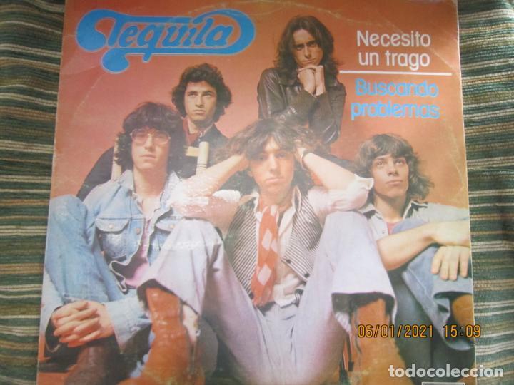 TEQUILA - NECESITO UN TRAGO / BUSCANDO PROBLEMAS - MAXI 45 R.P.M ORIGINAL ESPAÑOL - NOVOLA 1978 - (Música - Discos de Vinilo - Maxi Singles - Grupos Españoles de los 70 y 80)