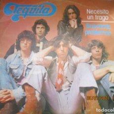 Discos de vinilo: TEQUILA - NECESITO UN TRAGO / BUSCANDO PROBLEMAS - MAXI 45 R.P.M ORIGINAL ESPAÑOL - NOVOLA 1978 -. Lote 233666730