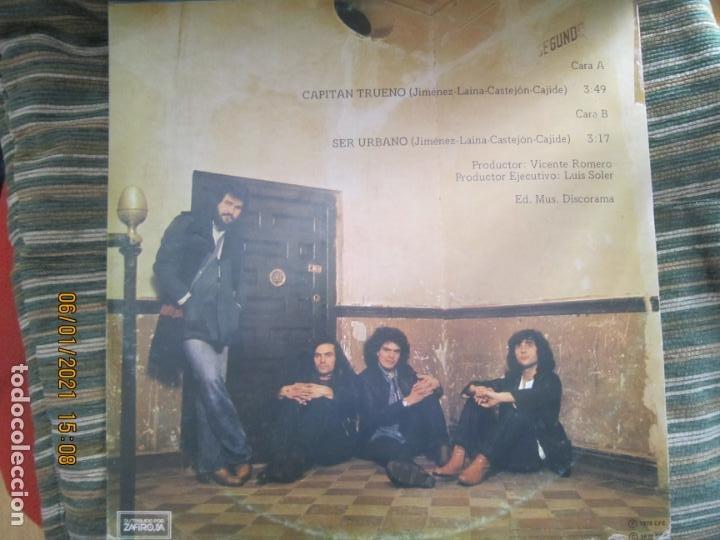 Discos de vinilo: ASFALTO - CAPITAN TRUENO / SER URBANO - MAXI 45 R.P.M. ORIGINAL ESPAÑOL - CHAPA DISCOS 1978 - SUPER - Foto 2 - 233668785