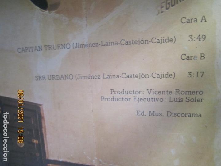 Discos de vinilo: ASFALTO - CAPITAN TRUENO / SER URBANO - MAXI 45 R.P.M. ORIGINAL ESPAÑOL - CHAPA DISCOS 1978 - SUPER - Foto 3 - 233668785