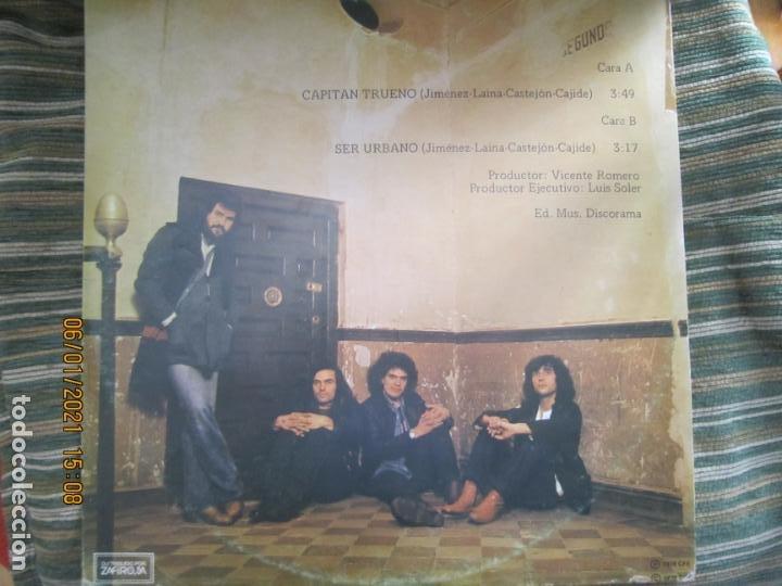 Discos de vinilo: ASFALTO - CAPITAN TRUENO / SER URBANO - MAXI 45 R.P.M. ORIGINAL ESPAÑOL - CHAPA DISCOS 1978 - SUPER - Foto 4 - 233668785