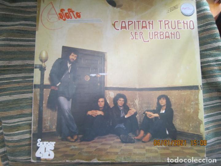 Discos de vinilo: ASFALTO - CAPITAN TRUENO / SER URBANO - MAXI 45 R.P.M. ORIGINAL ESPAÑOL - CHAPA DISCOS 1978 - SUPER - Foto 9 - 233668785