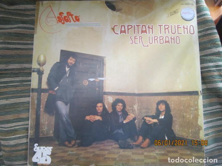 ASFALTO - CAPITAN TRUENO / SER URBANO - MAXI 45 R.P.M. ORIGINAL ESPAÑOL - CHAPA DISCOS 1978 - SUPER (Música - Discos de Vinilo - Maxi Singles - Grupos Españoles de los 70 y 80)