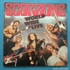 Discos de vinilo: LP DOBLE 1985 - SCORPIONS / WORLD WIDE LIVE - EMI ODEON. Lote 233670110