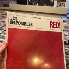 Discos de vinilo: LOS IMPOSIBLES RED LP DISCO DE VINILO PRECINTADO. Lote 233671720