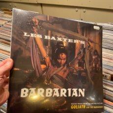 Discos de vinilo: LES BAXTER BARBARIAN LP DISCO DE VINILO PRECINTADO EXOTICA SPACE AGE. Lote 233674335