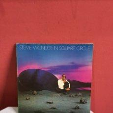 Discos de vinilo: STEVIE WONDER IN SQUARE CIRCLE PORTADA DOBLE. Lote 233675735