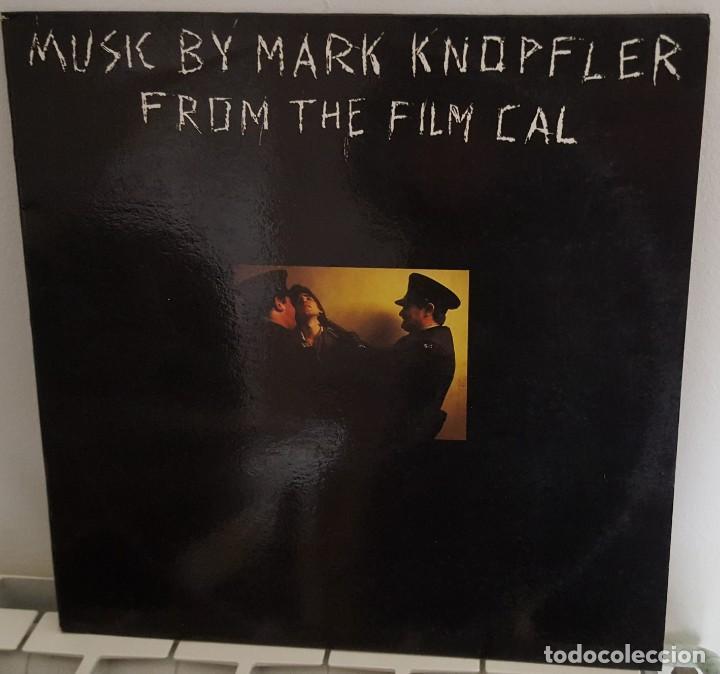 LP / MUSIC BY MARK KNOPFLER FROM THE FILM CAL, 1984 EDICIÓN ESPAÑOLA (Música - Discos - LP Vinilo - Bandas Sonoras y Música de Actores )
