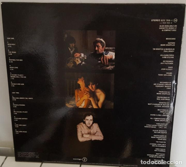 Discos de vinilo: LP / MUSIC BY MARK KNOPFLER FROM THE FILM CAL, 1984 EDICIÓN ESPAÑOLA - Foto 2 - 233699485
