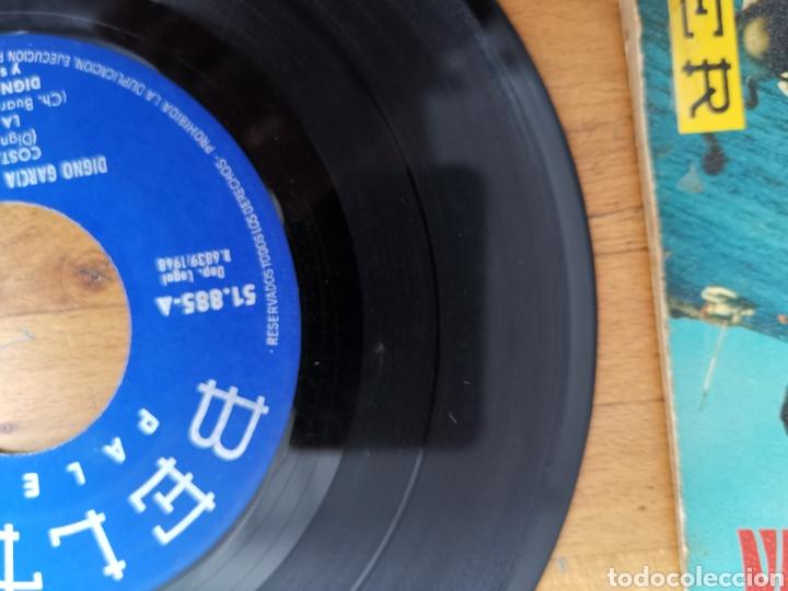Discos de vinilo: Disco de vinilo de 45rpm de Digno García, En la Costa Brava. de 1968 - Foto 4 - 233704535