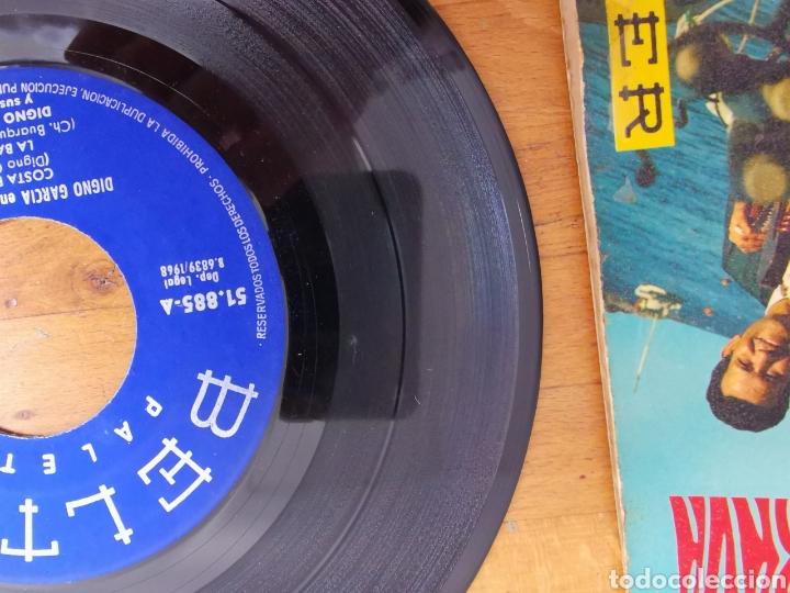 Discos de vinilo: Disco de vinilo de 45rpm de Digno García, En la Costa Brava. de 1968 - Foto 5 - 233704535