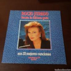 Discos de vinilo: ROCIO JURADO ( HASTA LA ÚLTIMA GOTA ) SUS 25 MEJORES CANCIONES - DOBLE LP. Lote 254977155