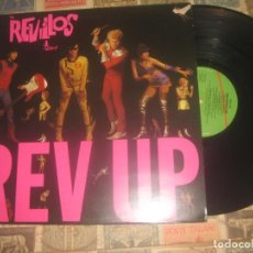 Discos de vinilo: THE REVILLOS - REV UP -(VIRGIN 1980 -) EDITADO LONDON EXCELENTE CONDICION LEA DESCRIPCION. Lote 233746860