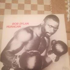 Discos de vinilo: BOB DYLAN.HURACÁN.HURRICANE.PARTE 1 Y PARTE 2. SINGLE.CBS 3841.ESPAÑA 1975.IMPECABLE.. Lote 233758845