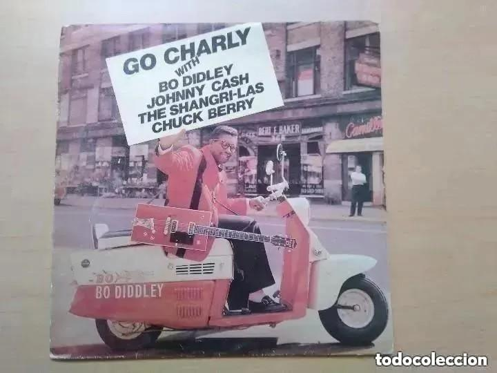 GO CHARLY BO DIDLEY JOHNNY CASH SHANGRI-LAS CHUCK BERRY (EP) 1988 (Música - Discos de Vinilo - EPs - Rock & Roll)