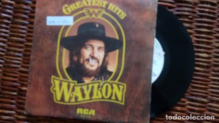 E.P. (VINILO)-PROMOCION- DE WAYLON JENNINGS AÑOS 70 (Música - Discos de Vinilo - EPs - Country y Folk)