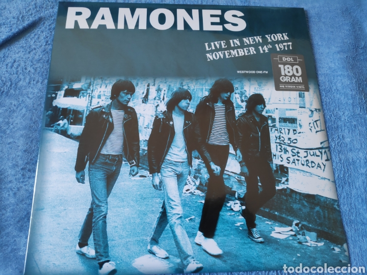 ÁLBUM LP DISCO VINILO THE RAMONES LIVE NEW YORK NUEVO (Música - Discos - LP Vinilo - Punk - Hard Core)