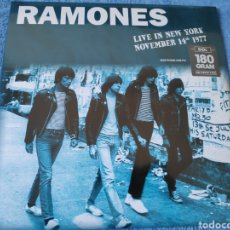 Disques de vinyle: ÁLBUM LP DISCO VINILO THE RAMONES LIVE NEW YORK NUEVO. Lote 233800205