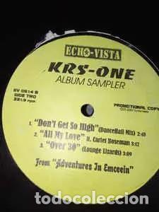 Discos de vinilo: KRS-One - Album sampler - EP Vinilo - Foto 2 - 233811125