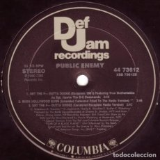 Discos de vinilo: PUBLIC ENEMY - CAN'T DO NUTTIN' FOR YA MAN - VINILO. Lote 233812710