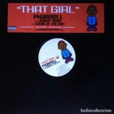 Discos de vinilo: PHARRELL FEAT. SNOOP DOGG - THAT GIRL - VINILO. Lote 233813750