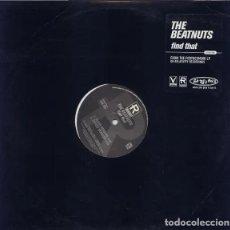 Discos de vinilo: THE BEATNUTS - FIND THAT - PROMO USA VINILO. Lote 233827945
