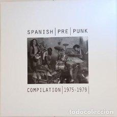 Discos de vinilo: SPANISH PRE PUNK COMPILATION 1975-1979 - - BANDA TRAPERA ..- MORTIMER - VINILO BLANCO+INSERTO. Lote 252050515