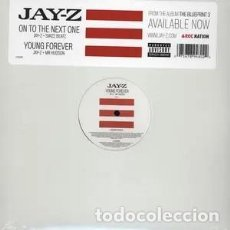 Discos de vinilo: JAY-Z - ON THE NEXT ONE / YOUNG FOREVER - VINILO. Lote 233830930