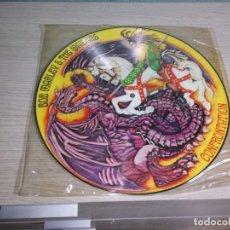 Discos de vinilo: PICTURE RECORD BOB MARLEY - CONFRONTATION. Lote 233841620