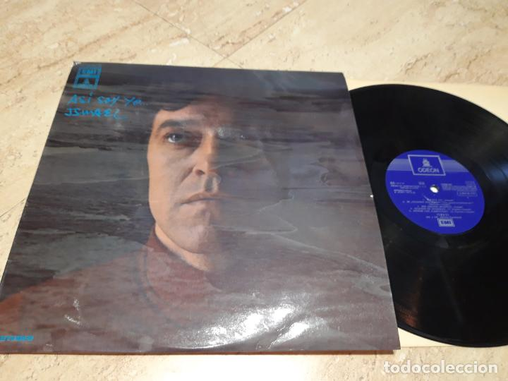 ISMAEL.- ASI SOY YO- LP- EMI - ODEON,1971.(ALFREDO DOMÉNECH GLORIA FUERTES) RARO! (Música - Discos - LP Vinilo - Solistas Españoles de los 70 a la actualidad)