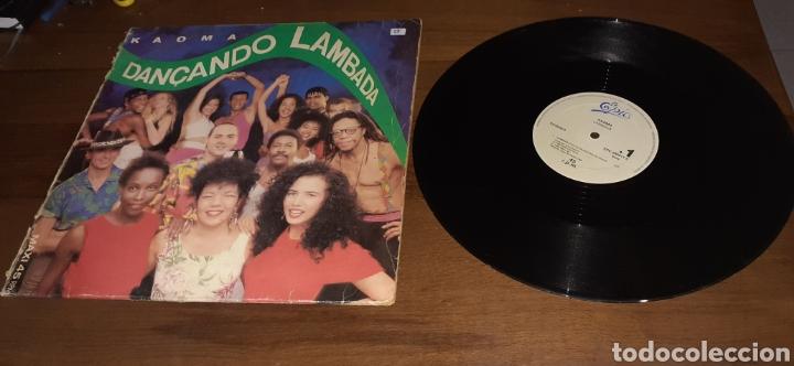 KAOMA - DANÇANDO LAMBADA - MAXI - SPAIN - EPIC - PLS 25 - (Música - Discos de Vinilo - Maxi Singles - Grupos y Solistas de latinoamérica)