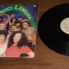 Discos de vinilo: KAOMA - DANÇANDO LAMBADA - MAXI - SPAIN - EPIC - PLS 25 -. Lote 233867025