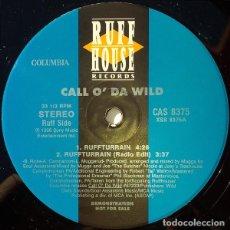Discos de vinilo: CALL O' DA WILD FEAT B-REAL ( CYPRESS HILL ) – RUFFTURRAIN / INTELLECTUAL DONS VINILO. Lote 233883010