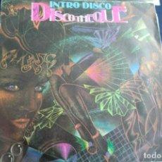 Discos de vinilo: SINGLE INTRO DISCO DISCOTHEQUE. Lote 233888380
