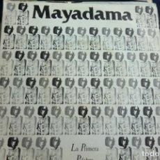 Discos de vinilo: SINGLE MAYADAMA. LA PRIMERA PALABRA - MARZAS. 1990. Lote 233890510