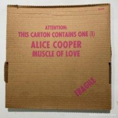 Discos de vinil: LP ALICE COOPER MUSCLE OF LOVE EDICIÓN ORIGINAL U.S.A. 1973. Lote 233884030