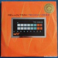 Discos de vinilo: MELLOW TRAX - TECHNO VIBES (2XLP, ALBUM, LTD, GAT) (WHAT'S UP ?!, ZEITGEIST) 563 915-1. Lote 233894460