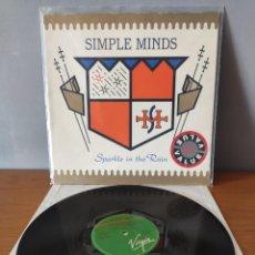 Disques de vinyle: SIMPLE MINDS - SPARKLE IN THE RAIN. Lote 233895330