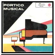 Discos de vinilo: XX SINGLE, PORTICO MUSICAL, FIDELIO, ANDALUCIA Y CRY ME A RIVER.. Lote 233896695